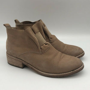 Eileen Fisher 'Soul' Size 5.5 Gathered Nubuck Boot